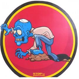 Cible 2D Stop'IN Target Zombie rampant