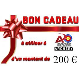 Carte cadeau - 200€