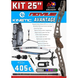 "kit 25"" Kinetic Novius Avantage"