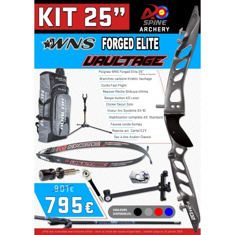 "kit 25"" WNS Forged Vaultage"