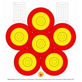 Danage 6 spots - 40cm
