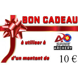 Carte cadeau - 10€