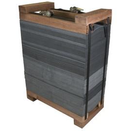 Avalon Cible bandes de mousse avec cadre bois 60 x 60 x 30cm