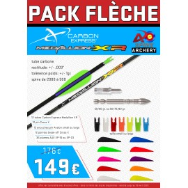 Pack flèches Carbon Express Medallion XR