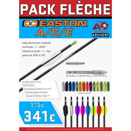 Pack flèches Easton A/C/E