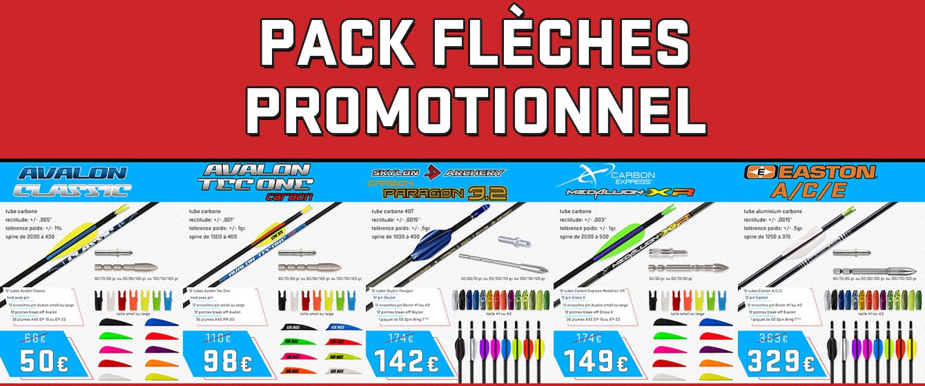 promotion pack fleches